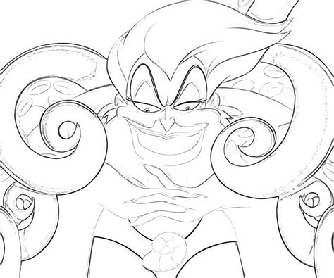 ursula coloring pages coloring home