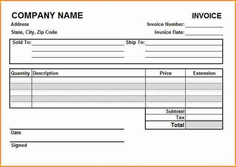 10 create free invoice invoice template download