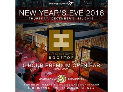 new years hoboken nj new years nye empire hotel rooftop nyc 2016 patch