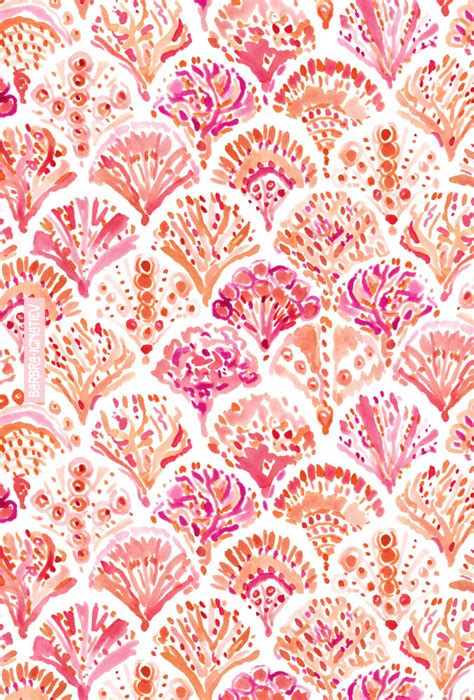 coral pattern coral camo mermaid fish scales pattern 183 barbarian by