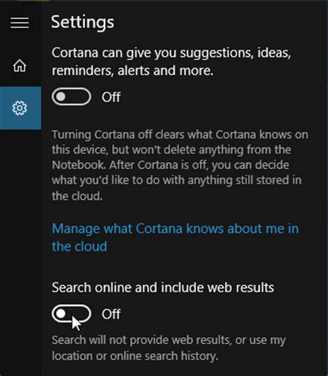 how to disable bing search in windows 10s start menu disable bing search in windows 10 or replace with google