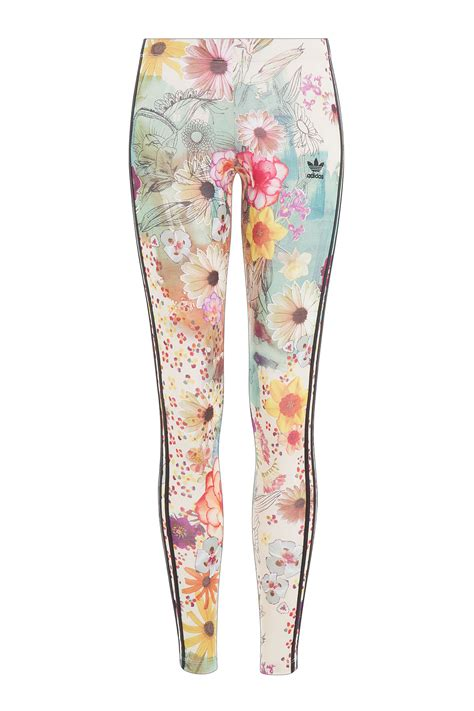 Adidas Flower Fastival Suitshirt Hoodie And Legging Print Compression lyst adidas originals floral print multicolor