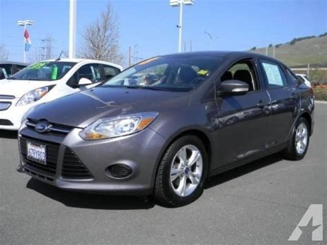 Ford Focus Se 2013 by 2013 Ford Focus Se For Sale In Vallejo California