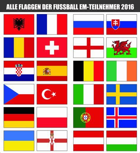 Kofferaufkleber Flaggen by Sticker Store24 Alle Flaggen Der Em Teilnehmer 2016