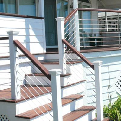 Wire Handrail Systems Stainless Steel Cable Railing Systems Amp Handrail Components