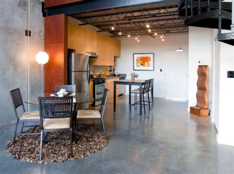 concrete floors both a statement and a functional choice