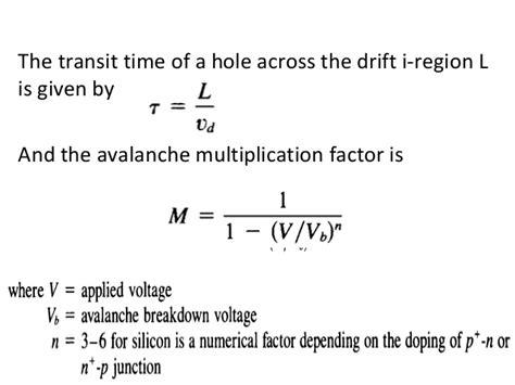 impatt diode negative resistance what is diode transit time 28 images introduction to negative resistance 1 devices circuit