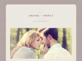 Wedding Album Design Exles by Personal Wedding Website Exles Wedding Ideas 2018
