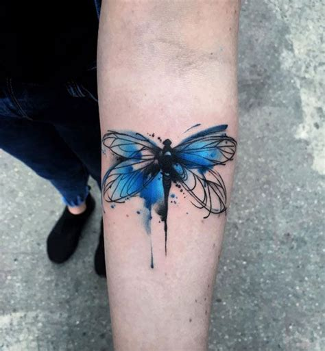 watercolor dragonfly tattoo the 25 best ideas about dragonfly on