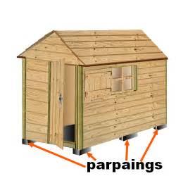 plan cabane bois de jardin abri jardin bois cabanes 224