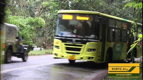 Ksrtc Low Floor Timings by Kurtc Ashok Leyland Low Floor Buses At Pamba Sabarimala