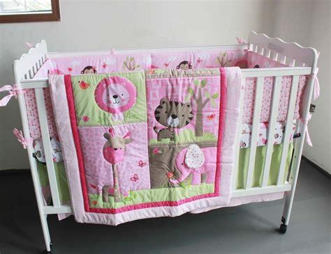 Crib Bedding Sets Sale Sale 2015 7pcs Cotton Baby Crib Bedding Set 3d Embroidery Monkey Butterfly