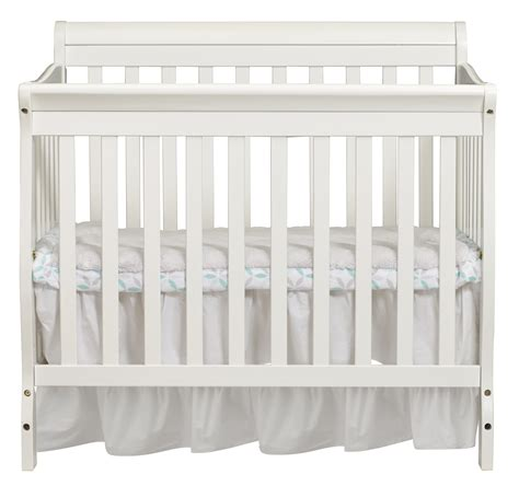 How Big Is A Mini Crib Big Oshi 3 In 1 Mini Convertible Crib In White Shop Your Way Shopping Earn
