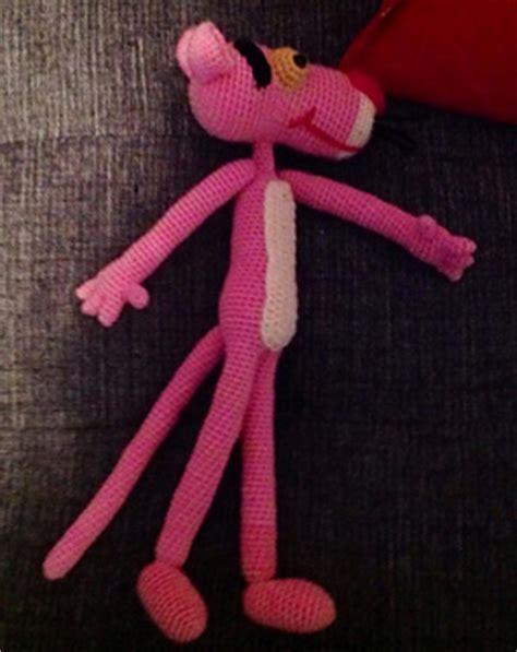 knitting pattern pink panther ravelry pink panther amigurumi pattern by edward yong