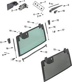 Parts For A Jeep Jeep Wrangler Jk Hardtop Rear Liftgate Parts Quadratec