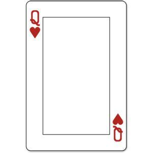 Deck Of Cards Template by Card Template Search Colors