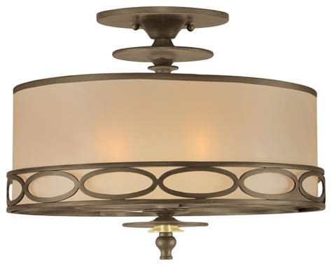 Crystorama Eclipse Collection 16 Quot Wide Ceiling Light Houzz Lighting Fixtures