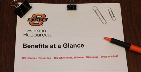 Social Security Office Stillwater Ok by Osu Benefits Human Resources
