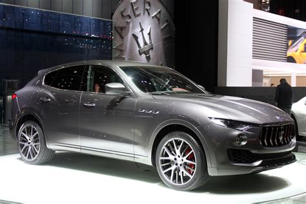 26 Model 2017 Maserati Levante SUV 2016 Geneva Motor Show