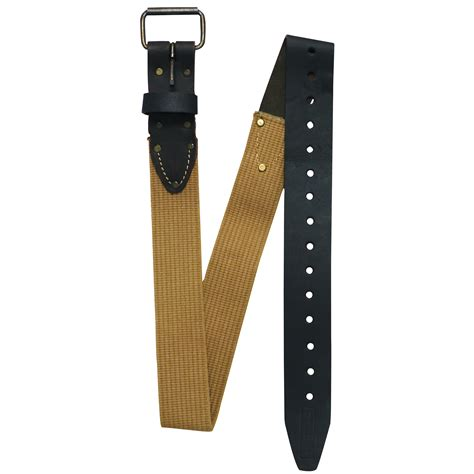craftsman cotton leather belts shop your way