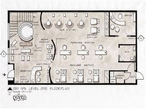 hair salon floor plans download 8 best spa layout images on pinterest spa design beauty
