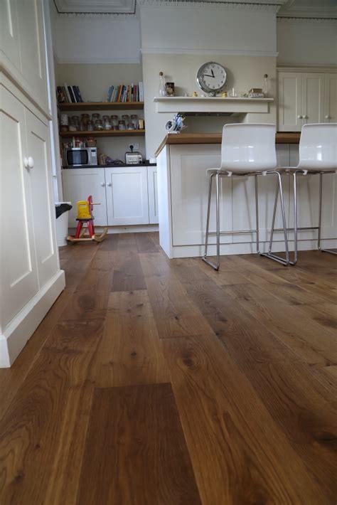 lightly smoked oak flooring hicraft