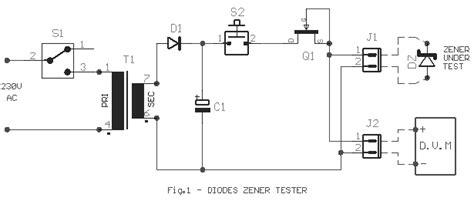 diode operating voltage zener diode voltage tester eeweb community