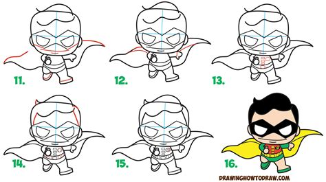 doodle draw step by step batman drawing step by step 5 how to draw chibi batman