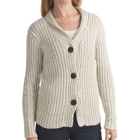 Sweater Cardigan Alps Cardigan Sweater Shawl Collar For
