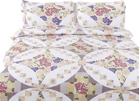 Wisteria Patchwork - collection wisteria roses patchwork quilt set reviews