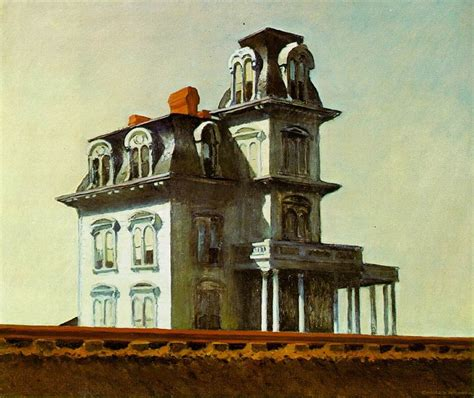 house by the railroad hourse by the railroad 1925 by edward hopper