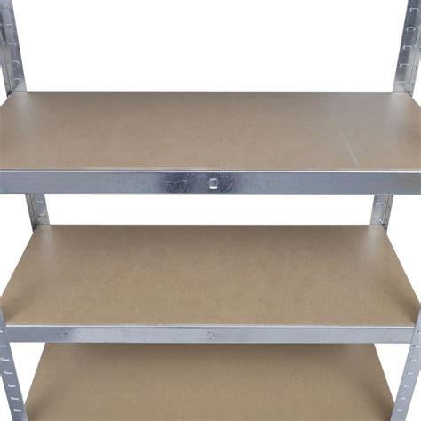 mensole per garage scaffale a 5 mensole 180cm per garage e magazzini vidaxl it