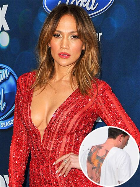 jennifer lopez tattoo talks ben affleck s awful back