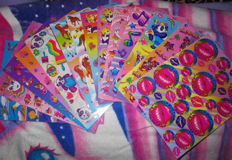 90s Stickers children of the 90s sticker collections