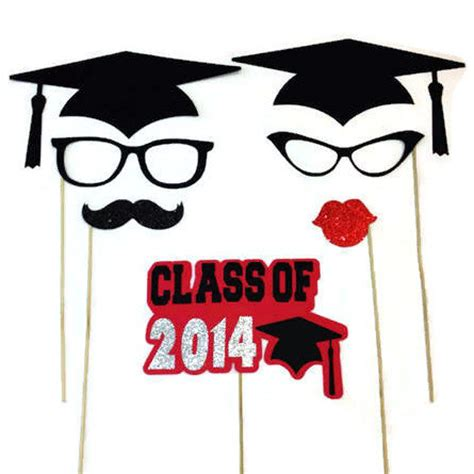 free printable graduation photo booth props 2015 graduation photo booth props class of 2015 by craftingbydenise