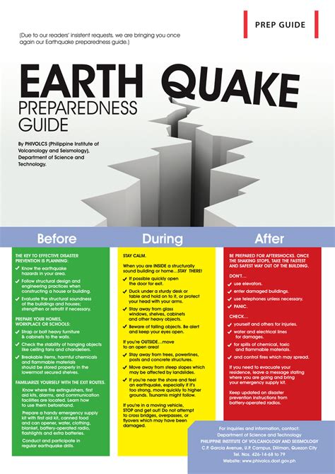 earthquake safety tips how to survive in an earthquake