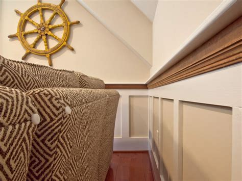 How To Measure For Wainscoting How To Install Shaker Style Wainscot How Tos Diy