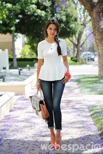 Rok Denim Maxi Skirt Dominggo Rok 10 formas de vestirse elegante usando ropa casual 161 te va