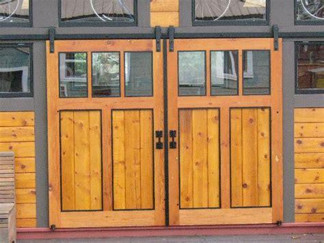 Barn Doors Exterior Standard Flat Track Sliding Door Hardware Flat Track Hardware