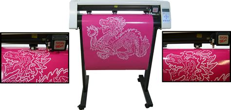 Signmax 24 Quot Rhinestone Vinyl Cutter Make Rhinestone Font And Template Ebay Rhinestone Template Cutter Machine