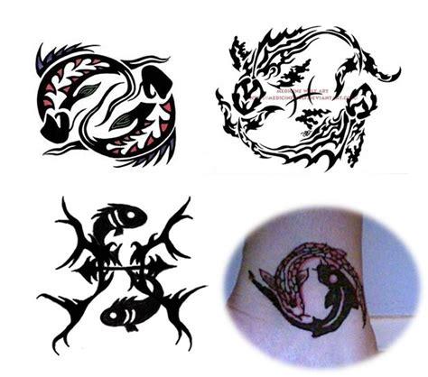 tribal pisces tattoo tribal pisces tattoos design tattoos designs