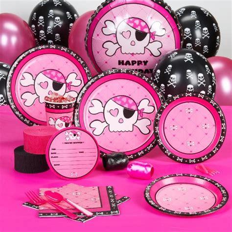 Skull Birthday Decorations by Pink Skull Birthday Supplies Decoration Ideas