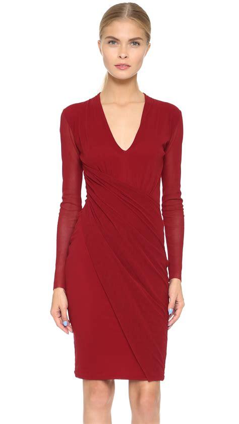 Quance Dress Bangkok On Sale fuzzi sleeve dress bangkok in lyst