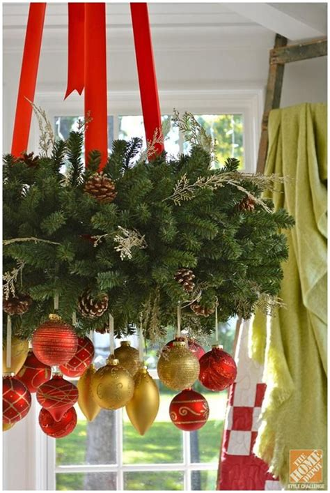 hanging decorations for home 17 gorgeous christmas chandeliers for a yuletide home