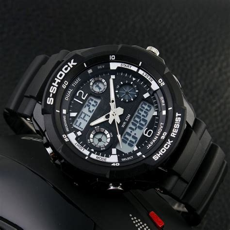 Jam Tangan mortima jam tangan sporty pria rubber model 17