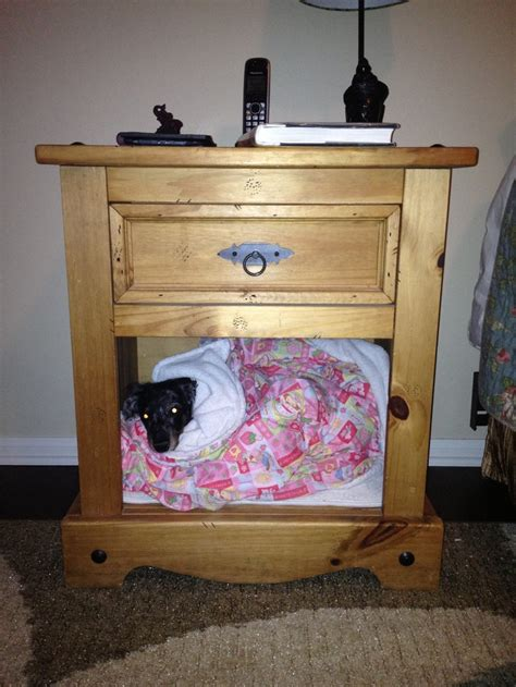 nightstand dog bed dog bed in nightstand organizing house garden garage