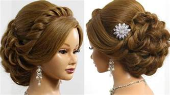 updo hairstyle pictures bridal hairstyle for long medium hair tutorial romantic