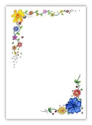 Päckchen Aufkleber Zum Ausdrucken by Briefpapier Blumenranke Kreativzauber 174 Motivstempel