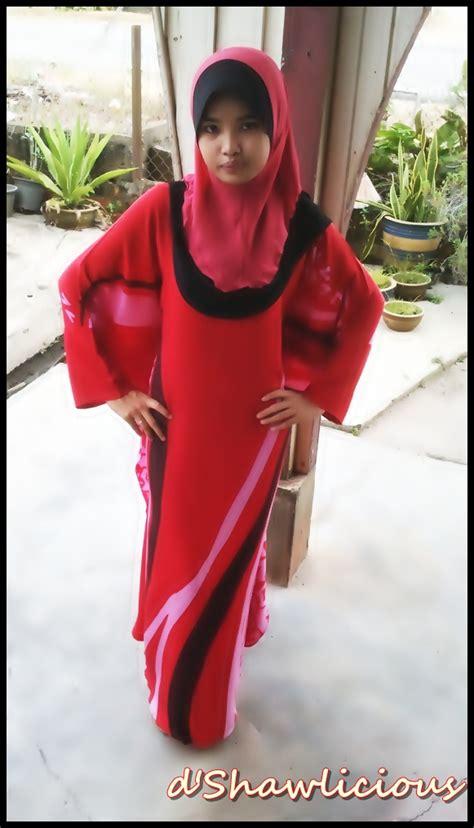 Kaftan Brukat Hitam Inner Maxi Pashmina Jersey d shawlicious august 2011