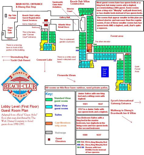 disney beach club floor plan joe cool s slice of the web